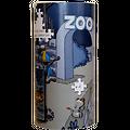 "Puzzle ""Le Rhinomadaire - Roceros au zoo"""