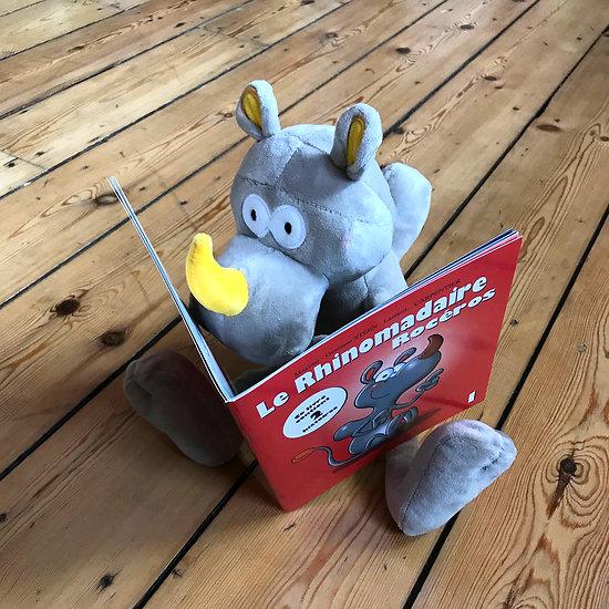 PROMO Saint-Nicolas ! / Le Rhinomadaire-rocéros : LIVRE + PELUCHE