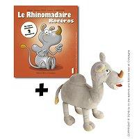 Le Rhinomadaire-rocéros : Livre + Peluche