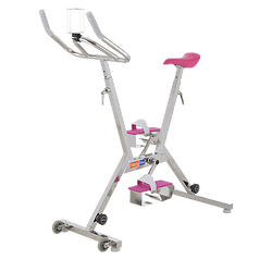 Vélo piscine / Aquabike Happy Bike fuchsia