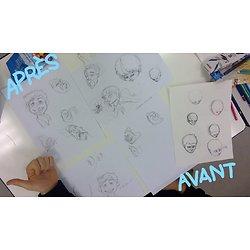 Cours de dessin Charadesign : dessin de personnage d'animation  (journée)