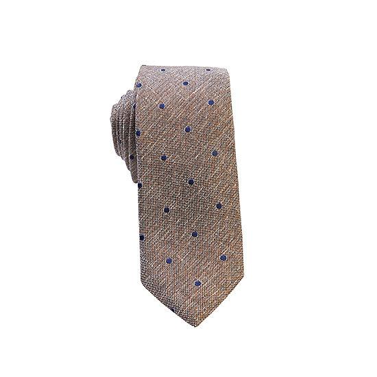 Cravate Origami marron