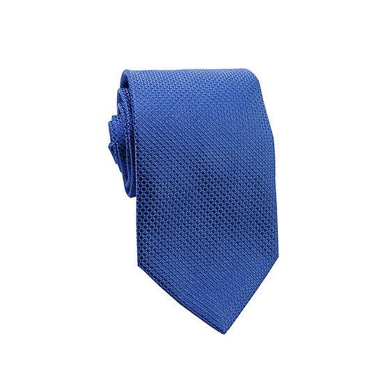 Cravate bleu roi