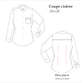 Coton stretch - blanc - Slim fit
