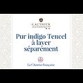 Indigo Tencel®  - coupe droite