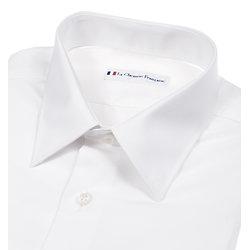 Chemise blanche en coton stretch
