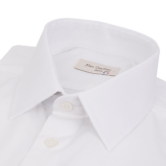Coton stretch - blanc - Slim fit