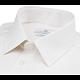 Chemise nattée blanc / beige