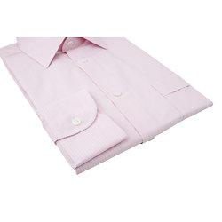 Rayure fantaisie - rose et blanc