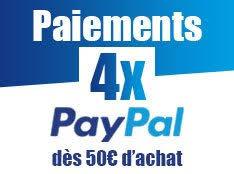 Paiement en 4X via Paypal