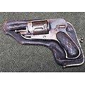 Revolver bulldog 6.35 ** jaspé ** avec étui **