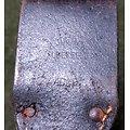 WW2 Gousset / porte fourreau baïonnette allemande Mauser 98K  1942