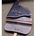 Holster / étui cuir pour pistolet lance fusée Allemand M34 & LP42