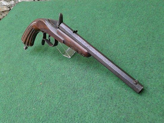 Pistolet de tir de salon flobert 22 flobert for Pistolet de salon