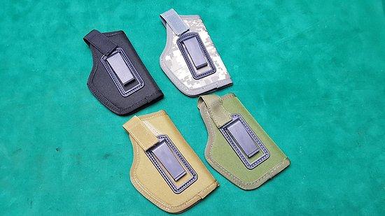 Holster / étui toile pour pistolet  4 couleurs aux choix