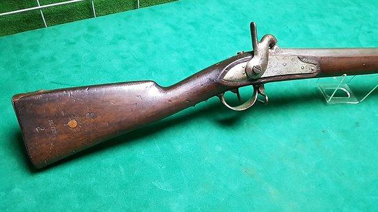 Fusil réglementaire français 1822 Tbis de la Manufacture Royale de Mutzig