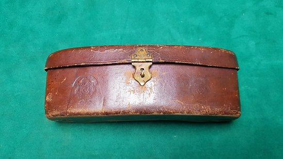 Cartouchière de chasse Napoleon III avec cartouches cal 16