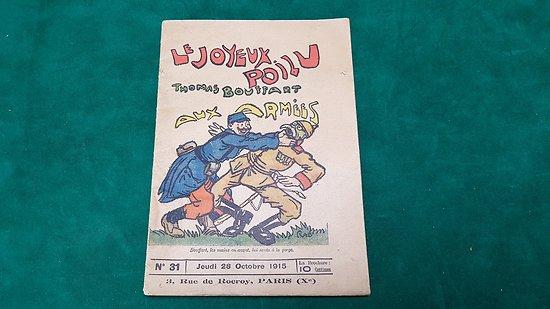 """Revue """" le joyeux poilu"""" octobre 1915"""
