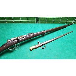 Fusil GRAS 1874 27eme tirailleur avec baïonnette
