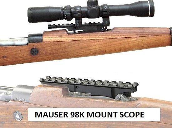 Montage scout lunette Mauser 98k