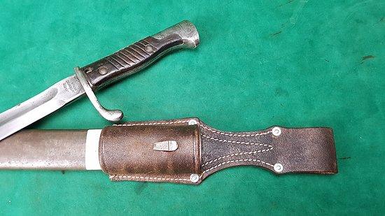 Gousset baïonnette Gewehr 98