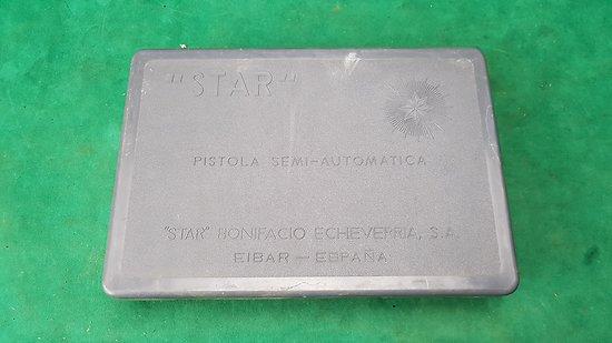 Boite pour pistolet STAR 9mm