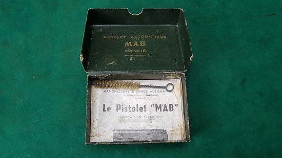 Boite pour pistolet MAB 6.35