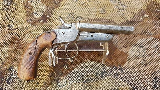 Pistolet double canons 450 bulldog