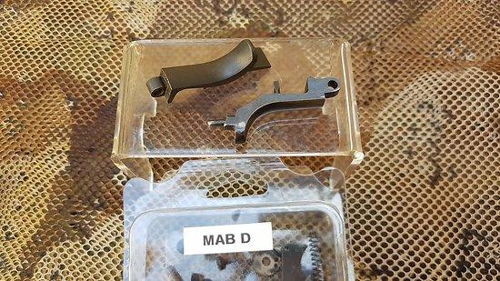 Pédale de sûreté  MAB C & D