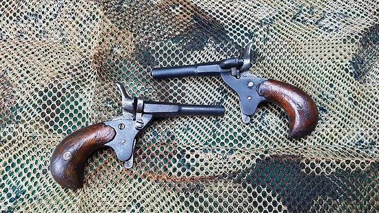 Paire de pistolet cycliste 22 flobert