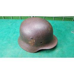 Coque de casque allemand M35 double insigne