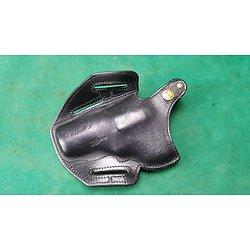 Holster cuir scorpion pour revolver MANURHIN MR73 et F1