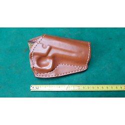 Holster / étui cuir SAFARILAND pour revolver SMITH & WESSON 689 / 659