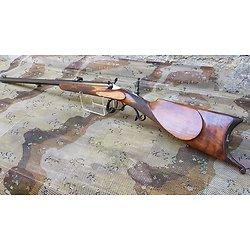 Exceptionnelle carabine de tir st Etienne 22 flobert avec dioptre