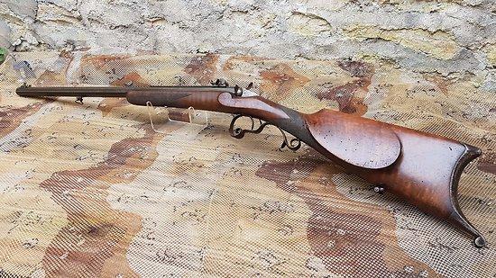 Carabine de tir 22 flobert avec canon lourd