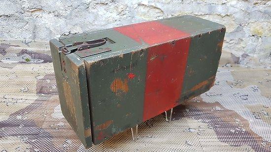Boite Allemande ww2 en bois pour transport des munitions 7.92 Mauser