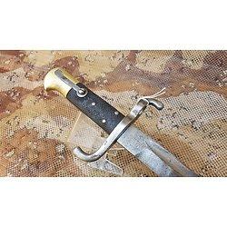 Rare baïonnette sabre 1860 Portugal