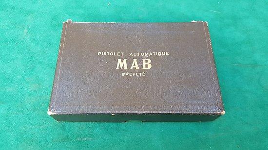 Boite d origine pour pistolet MAB