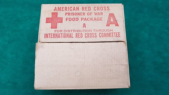 American Red Cross, Prisoner of War Food Package