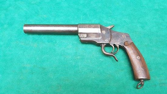 Pistolet lance fusée Allemand HEBEL ww1