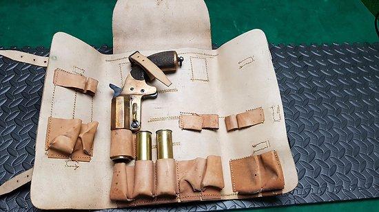 Pistolet lance fusée Francais 1917