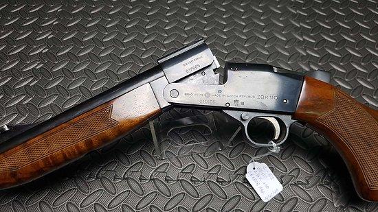 Carabine Kipplauf BRNO ZBK 110 calibre 5.6x50R Magnum