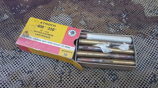 Boite KYNOCH 400/350 Nitro-express