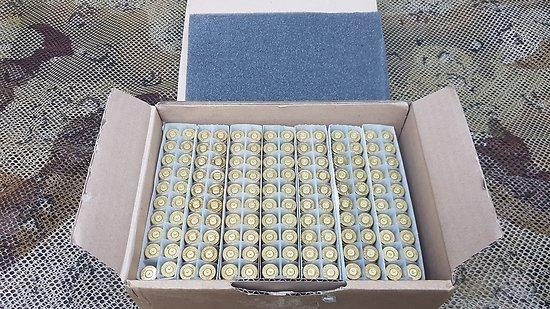 lot de 140 douilles PARTIZAN 7.08 Remington