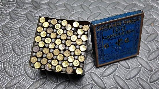 Boite de 100 cartouches 6mm extra long