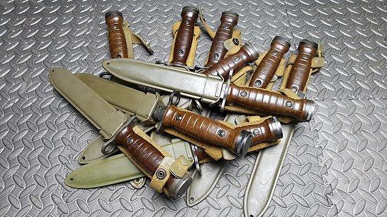Arrivage baïonnettes  M4 pour carabine U.S.M1 (italie)