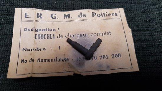 Crochet de chargeur  PA 35A