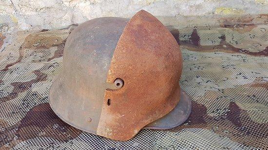 STIRNPANZER plaque de casque Allemand ww1