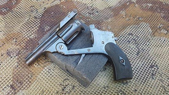 Revolver 6mm vélodog Top break