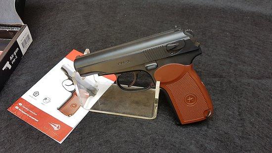 Pistolet Makarov 4.5mm CO2